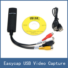 2016 marke Neue Easycap USB 2.0 Video TV DVD VHS Capture Card Adapter, für Computer/Cctv-kamera Freies Verschiffen(China (Mainland))