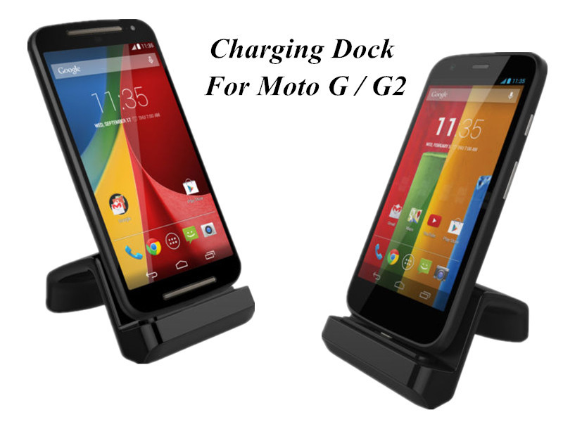 Data Sync Docking Station for Motorola Moto g G2 2016 / G+1 / G2 XT1063 XT1068 XT1069 with Micro USB Cable,Free Shipping-T01