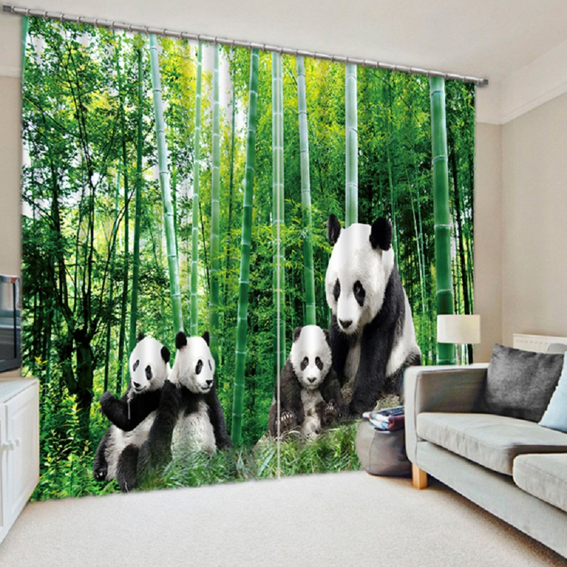 Buy 2016 new arrival chinese pandas print for Window manufacturers near me