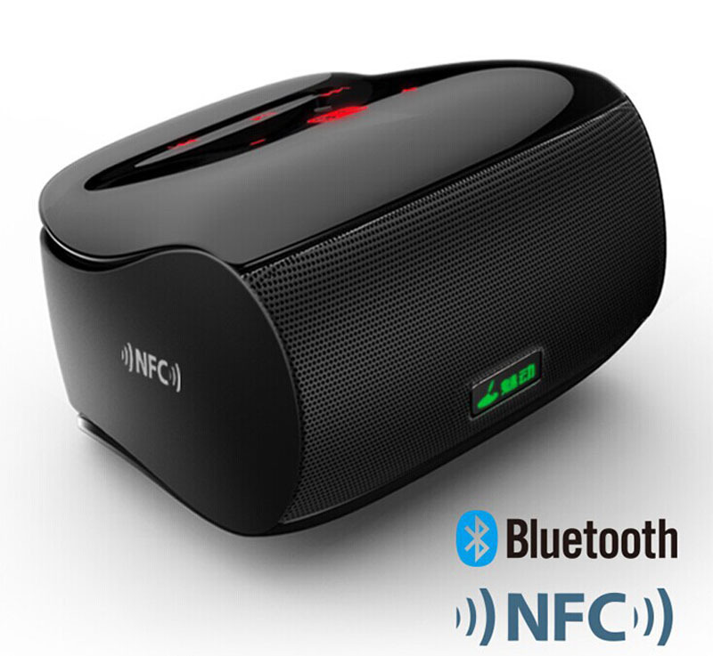 2015 New Bluetooth Speaker Portable Wireless Subwoofer Bass Amplifier HiFi Dancing Handsfree Sound Box