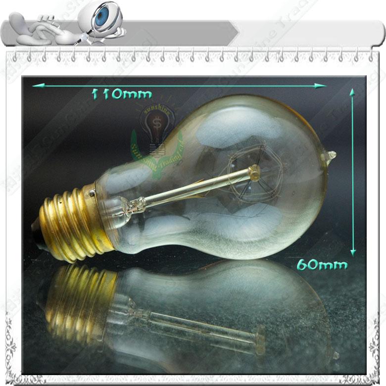 Classique d coratif edison ampoules 110v220v longue dur e filament - Lampe a incandescence classique ...