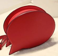 Cute circular letter shape bags playful shapes chain bag original design Clutch ride the tide of