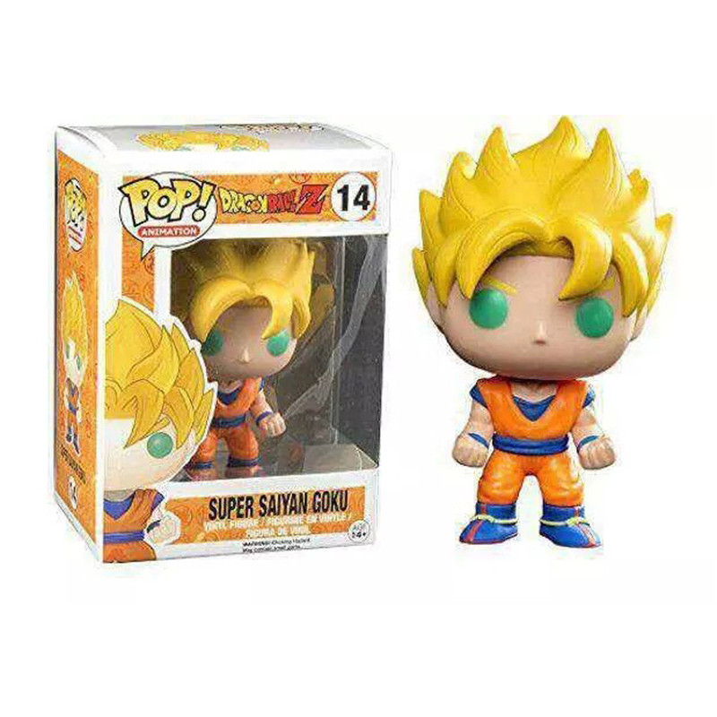 Starz Cartoon Dragon Ball PVC Mini Action Figures Anime Child Toys Son Goku(Kakarotto)/Vegeta/Frieza/Cell/Piccolo(China (Mainland))