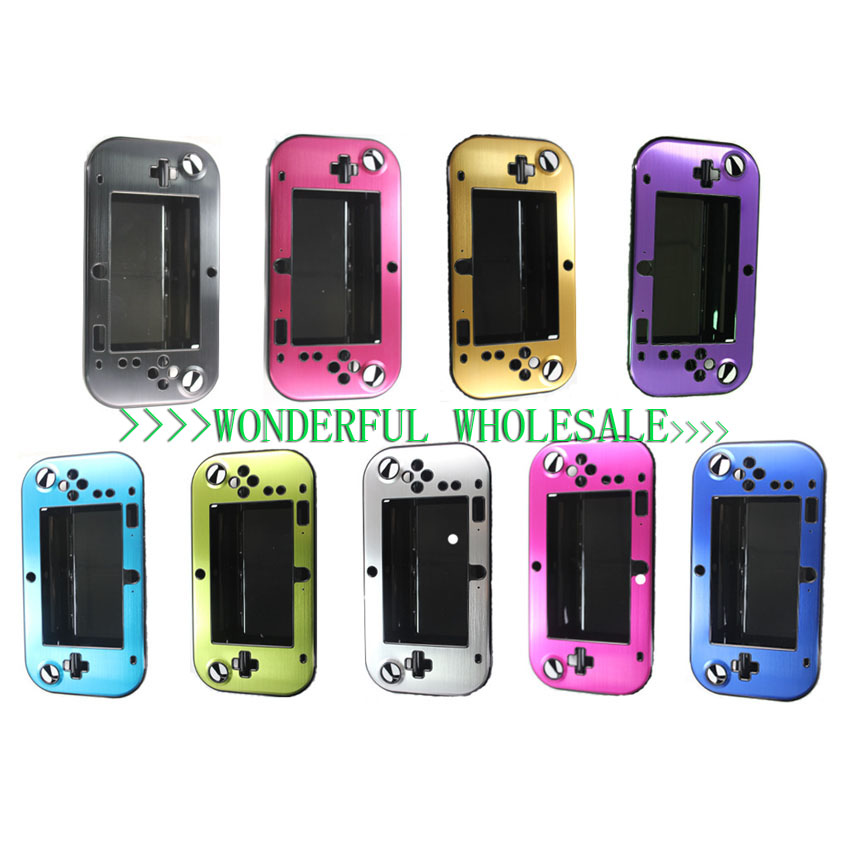 9 Colors New Hot Sale Aluminum Case Cover Protector For Nintendo For Wii U Gamepad Remote Controller Accessories High Qualtiy(China (Mainland))