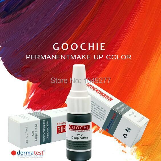 Краска для татуировки Goochie 3Pcs GZX030 недорого