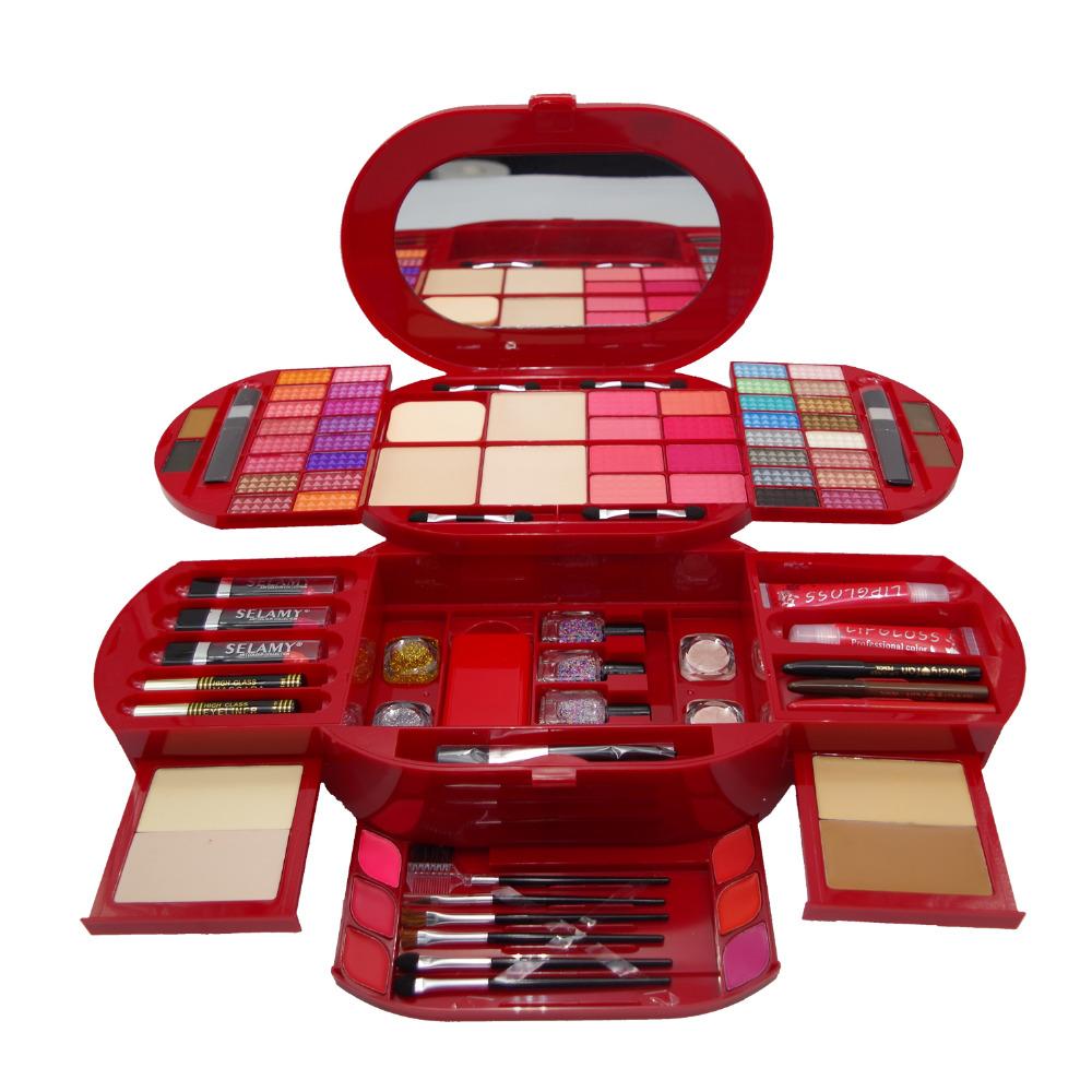 Makeup Set Selamy Urban Eyeshandow Palette Makeup Kit Color Collection Spirit Multi-function Blusher Nail PolishFree Shipping