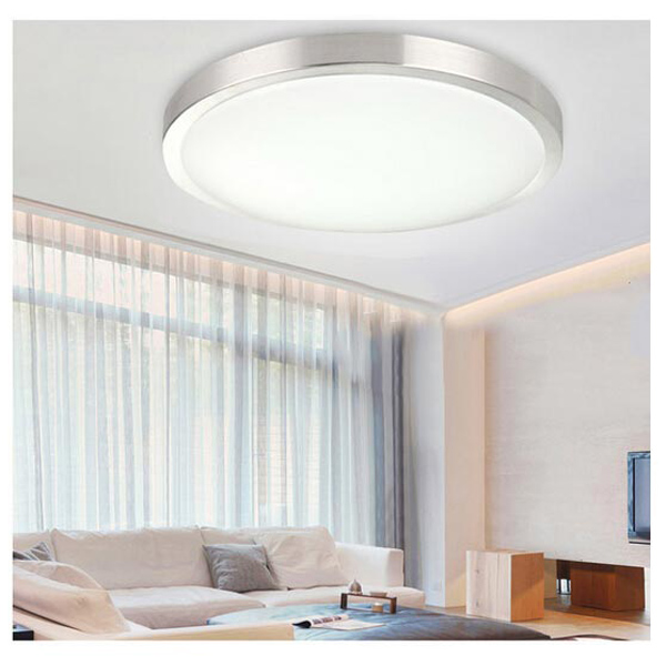 12W/15W/18W 220V White Non-Dimmable Acrylic LED Panel Ceiling Light Round Ceiling Application Lamp For Indoor Decoration BG44(China (Mainland))