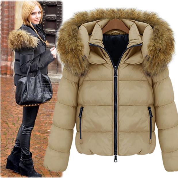 Big Fur Hooded Coat