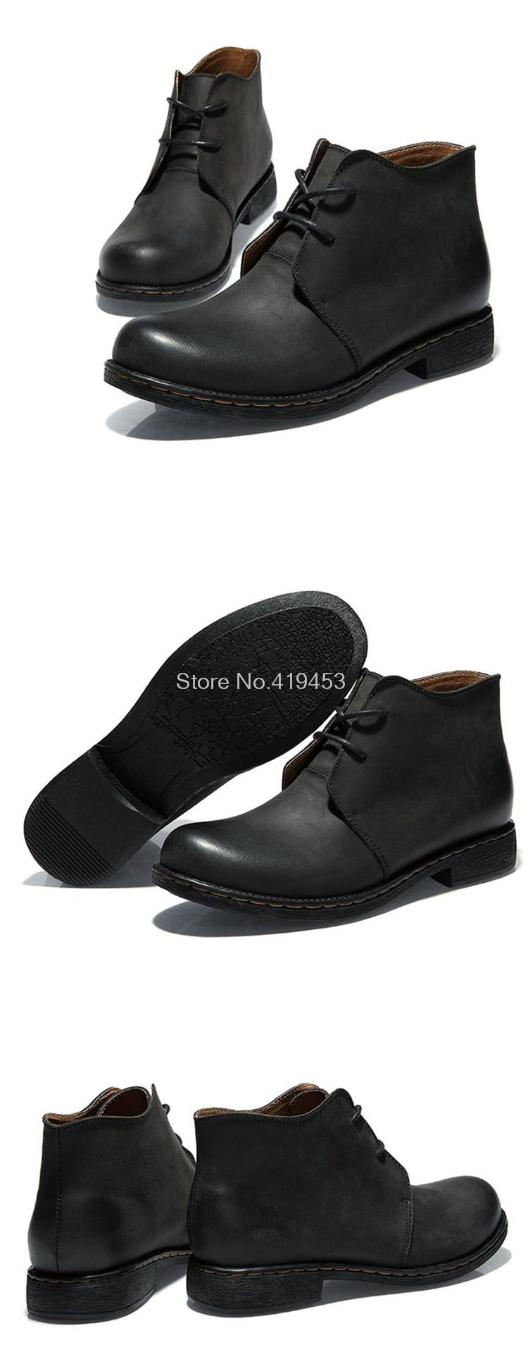 Time-limited Special Offer Original Brand Men Boots Casual Genuine