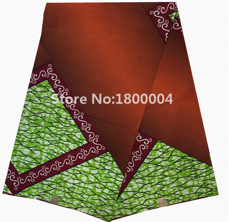 Wholesale and retail guaranteed hollandais wax african clothing 100%cotton holland printed wax fabric for party B04-71502(China (Mainland))