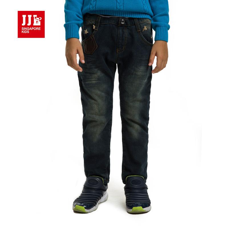 Boys winter jeans kids pants winter dark blue jeans brand for Dark denim toddler shirt