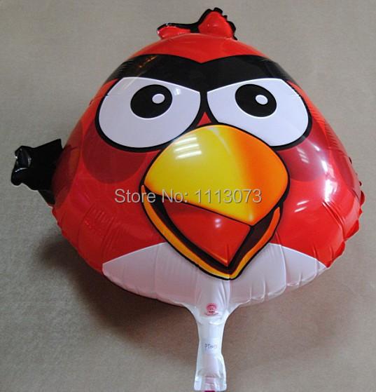 Горячая! 45 * 45 см 3 шт./лот птиц воздушные шары ну вечеринку украшения красные шары для с днем рождения украшение inflavel шар balao феста