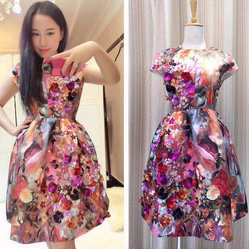 Женское платье Luxury Brand Dresses 2015 Women Beading Dress женское платье dress new brand 2015 dresses women