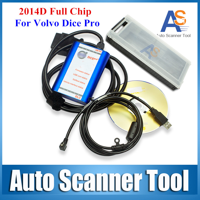 High Quality Super For VOLVO DICE PRO 2014 D Full Chip Supports J2534 Protocol & Fimware Update & Self-Test for VOLVO VIDA DICE(China (Mainland))