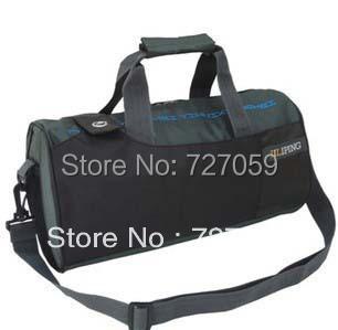 Sport Handbags 2015 Men Cylinder Shoulder Bag Couple Trips Sports and Fitness Big Bags Women Messenger Bag 21 * 40 * 21 cm(China (Mainland))