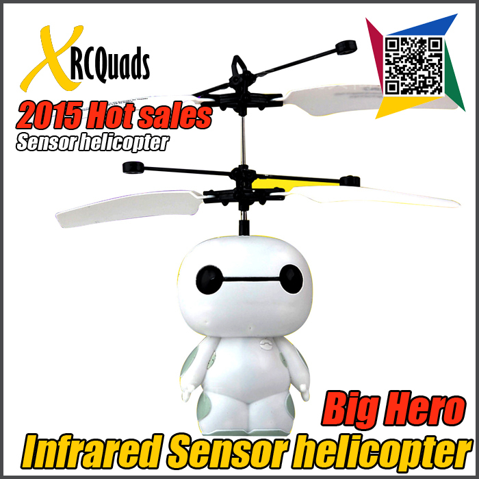 Big Discount 2 Channel Infrared Sensor RC Helicopter Toys Remote Control Hero Helicopters Hovering Flying Robot Aircraft Model(China (Mainland))