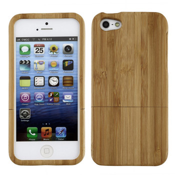 Etui plecki do iPhone 5 / 5s drewno bambusowe must have