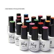 19 Colors 6ml Bling New Arrive Soak Off UV Nail Gel Polish Nail Art Manicure Nails Gel Professional Kit UV LED Lamp Cosmetics