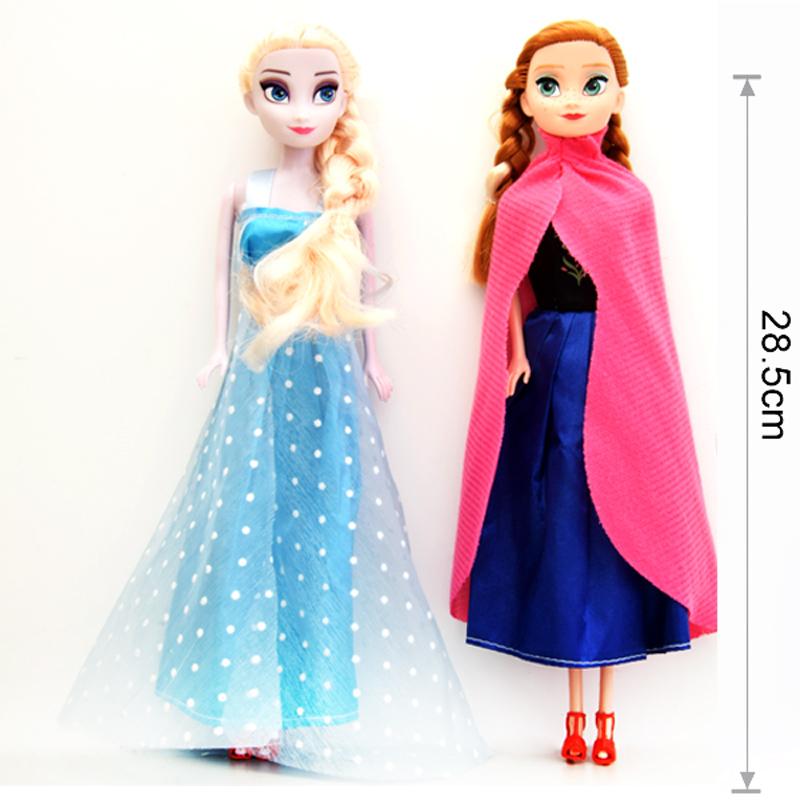 Princess Toys For Girls : Princess elsa anna doll snow queen children girls