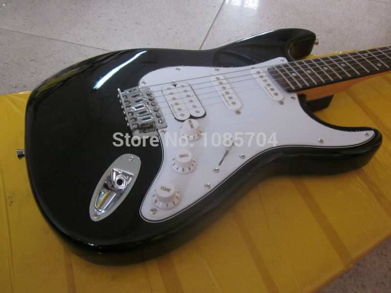 Free shipping Wholesale fen st custom shop electric guitar/oem brand black color guitar/guitar in china<br><br>Aliexpress