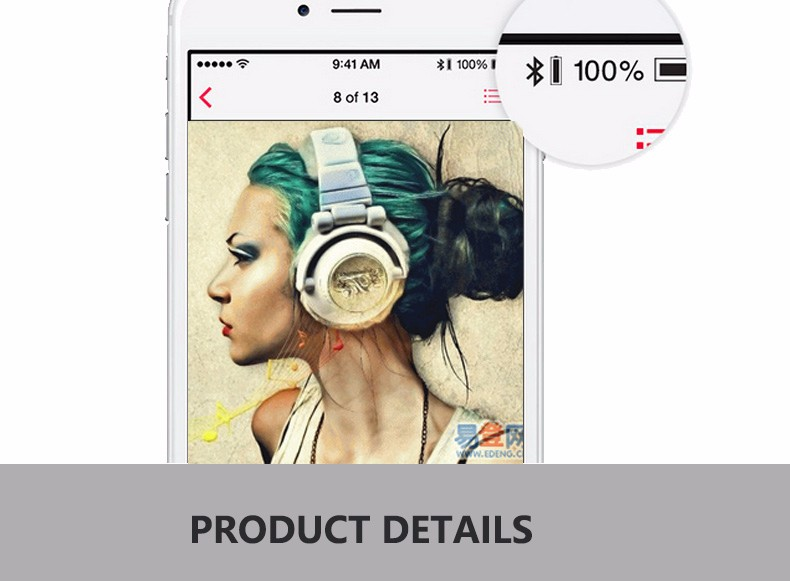 Top Quality!100% Original New Genai B1 Bluetooth 4.0 in ear Headset Wireless Headphones with Mic for all phone