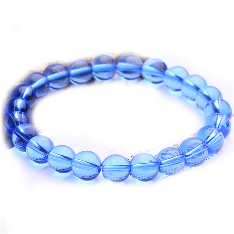 Direct selling crystal glass bead bracelet for men and women gift jewelry top quality with free