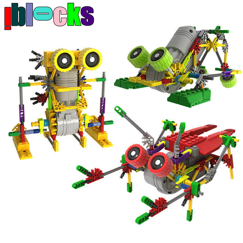 Creativity Toys For Boys : Creative diy assemblage electric motor robots models