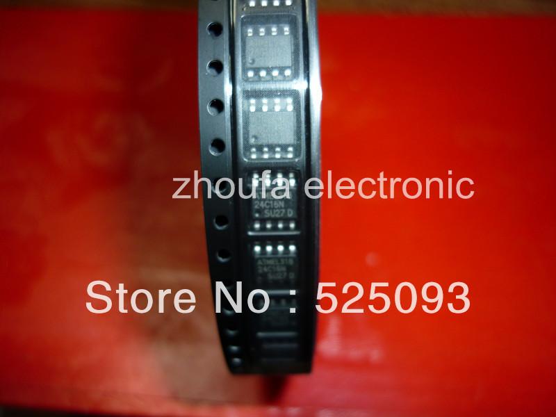 Free shipping AT24C16 24C16 SOP8 original in stock(China (Mainland))