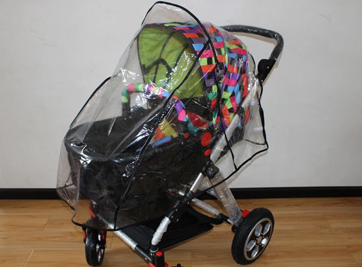 Особое воздухопроницаемый детская коляска дождевик / младенцы автомобиль лобовое стекло / пыль крышка для коляски дождь cover-w267