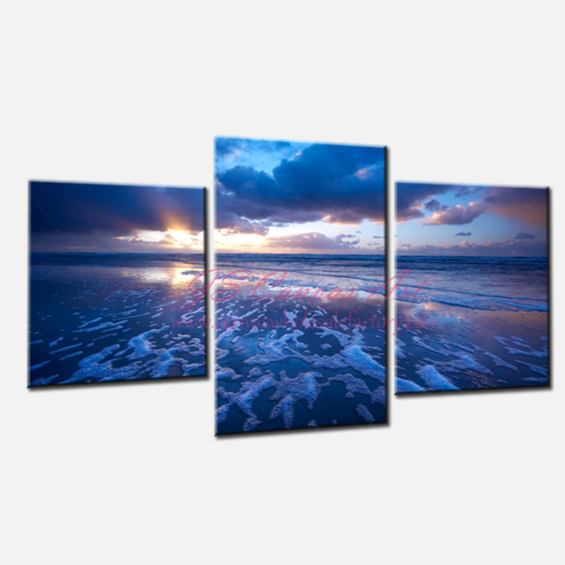 Wholesale unframed 3 piece canvas wall art painting cheap for Buy canvas wall art