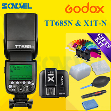 Buy Godox TT685N 2.4G HSS 1/8000s i-TTL GN60 Wireless Speedlite Flash+X1T-N Transmitter Nikon D7500 D5600 D810a D800 D500 D5 D4s for $165.00 in AliExpress store