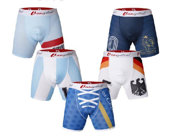 VANSYDICAL men base layer sports cycling running box football soccer basketball underwear shorts good quality quick dry(China (Mainland))