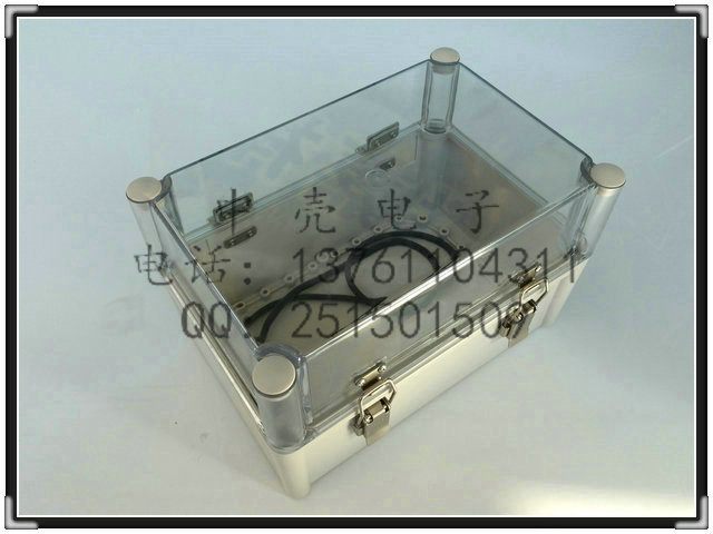 B-27K waterproof plastic clamshell boxes imported waterproof box electrical box control box 280 * 180 * 180(China (Mainland))