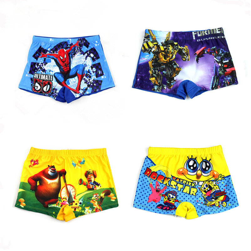 2016 High-quality New Arrival Cartoon Swimsuits Children Fashion Boys Swim Bathing Suit Pants Kids Swimwear Trunks Free Shipping(China (Mainland))