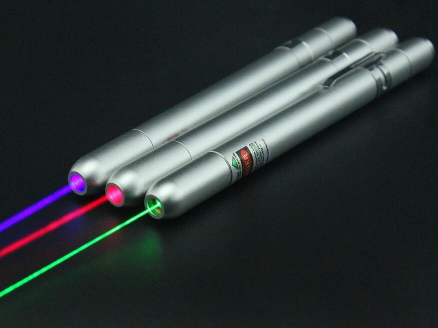 2016 New Update 200mw 1000mw Laser Pointer 4 Colors Laser