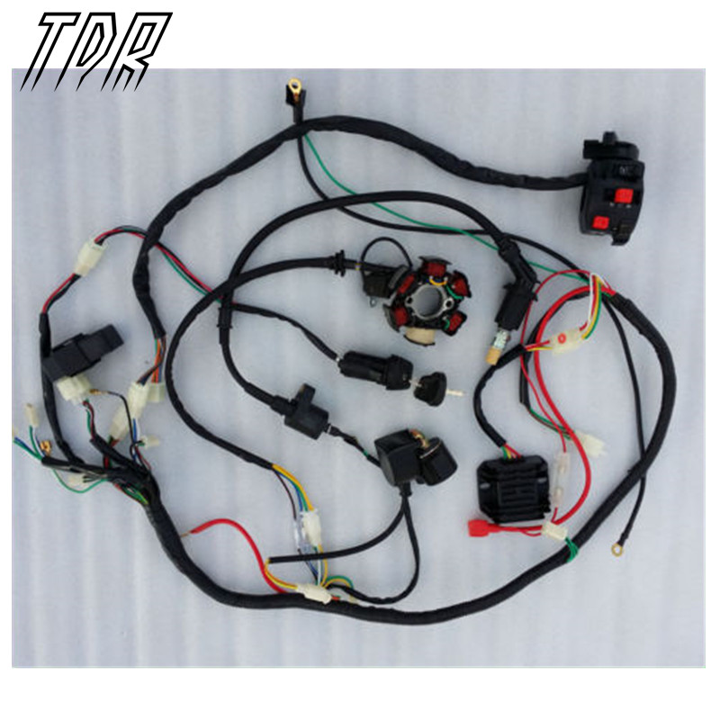 TDR NEW In USA font b GY6 b font SOLENOID COIL CDI REGULATOR 50cc 150cc 200cc