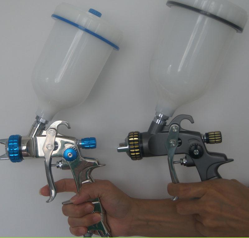 Здесь можно купить  SAT1215 high pquality spray paint 1.4nozzle  pneumatic spray gun power  blue lvlp manual sprayer SAT1215 high pquality spray paint 1.4nozzle  pneumatic spray gun power  blue lvlp manual sprayer Инструменты