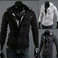 Free Shipping 2016 Autumn Winter Fashion Casual Slim Cardigan Assassin Creed Hoodies Sweatshirt Outerwear Jackets Men