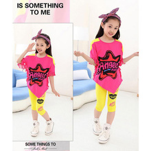New Personality Design Leopard Print Clothes For Kids Baby Girl Girl Sets Novelty Girls Outfit Sets(China (Mainland))