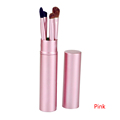 Light and easy to operate 5pcs make up cosmetic brushes set kits tool eyeshadow eyebrow eyeliner