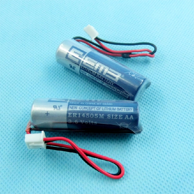 20pcs/lot Brand New EEMB ER14505 AA 3.6V 2400mAh Lithium Battery Batteries with Plug Free Shipping<br><br>Aliexpress