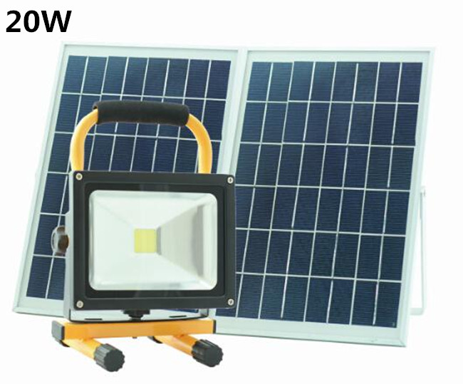 Led Solar Street Light 20W Solar Led Camping Lantern Light Lamp Solar Panel Outdoor Solar Hand Light(China (Mainland))