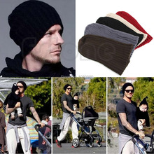 1PC Stylish Unisex Men Hip-Hop Warm Winter Wool Knit Ski Beanie Skull Cap Hat