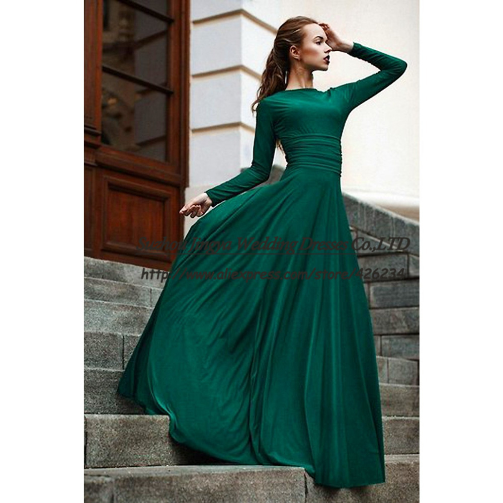 Elegant Green Dresses