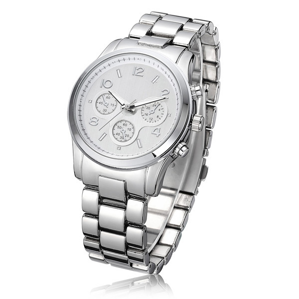 Мода свободного покроя часы бренд мужской кварцевые мужчины аналоговые наручные часы часы часы класса люкс из нержавеющей стали тяжелая часы