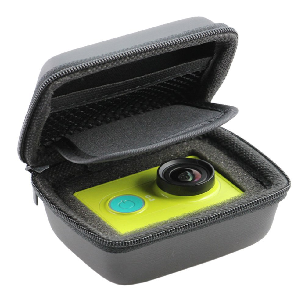 Portable Small Size Black Case For xiaomi yi Camera Bag Case for xiaoyi Waterproof Storage Camera