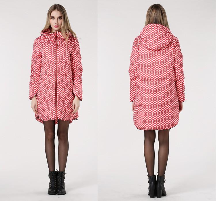 Plus Размер S-5XL Женщины Winter Coat  Белый Duck Down Parka Повседневный Dot Large Длинный Jacket for Женщины Casaco FeМиниno Hot