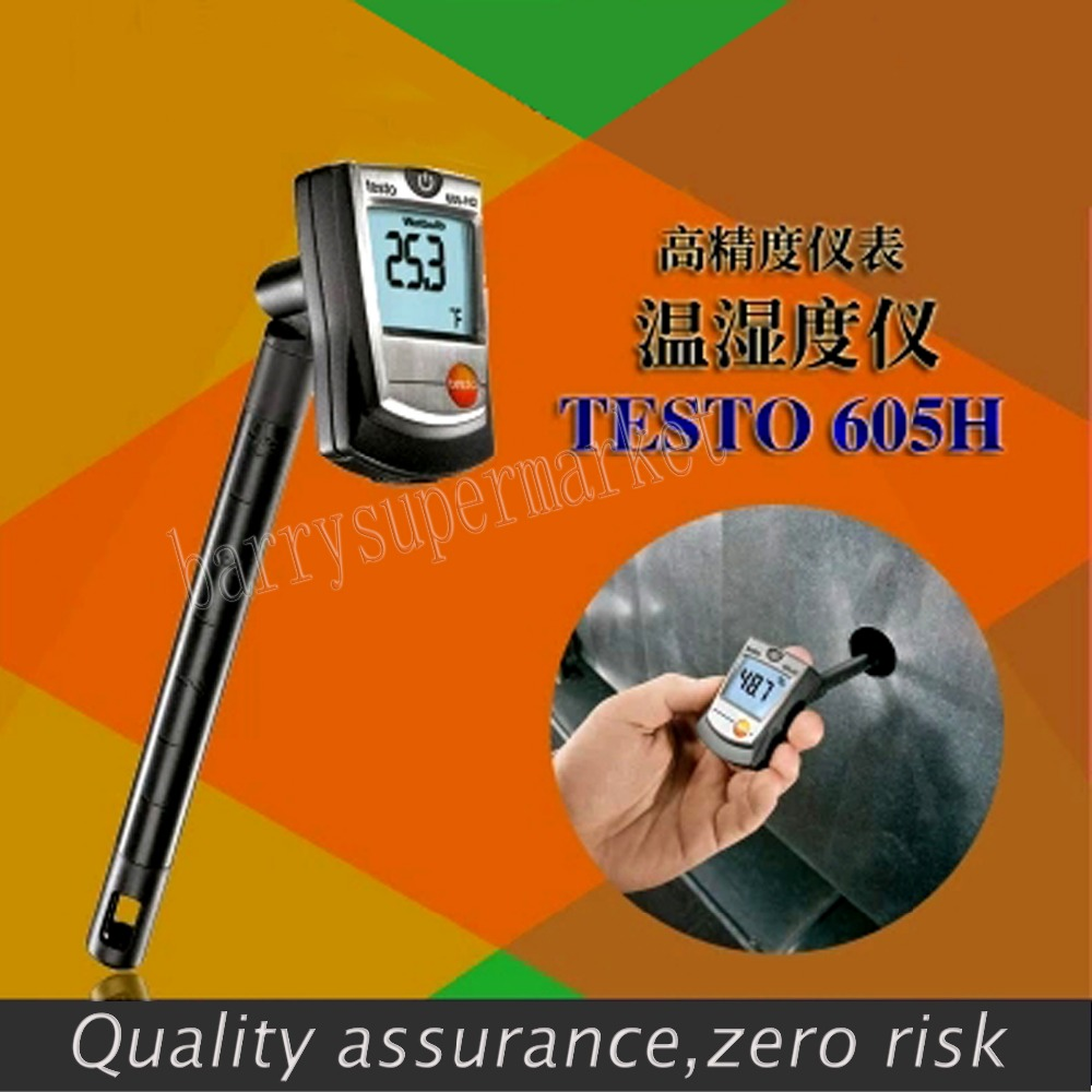 Здесь можно купить  Testo 605-H1 Thermo Hygrometer Humidity Temperature Meter,with duct holder and dewpoint calculation Testo 605-H1 Thermo Hygrometer Humidity Temperature Meter,with duct holder and dewpoint calculation Инструменты