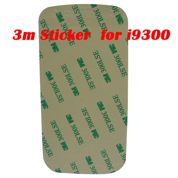 50Pcs 3M Double Sided Adhesive Glue Tape Frame Bezel Sticker for Samsung Galaxy S3 i9300 LCD Touch Screen Digitizer