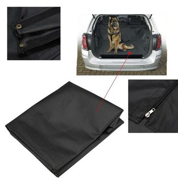 Black Universal Waterproof Car Boot protector liner Dog Pet floor Mat Cover Seat Large Size:98cm x 71cm x 35cm